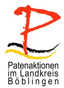 Logo Patenaktionen im Landkreis Böblingen
